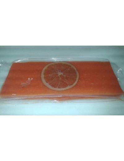 Turrón de naranja, pastilla de 300gr.