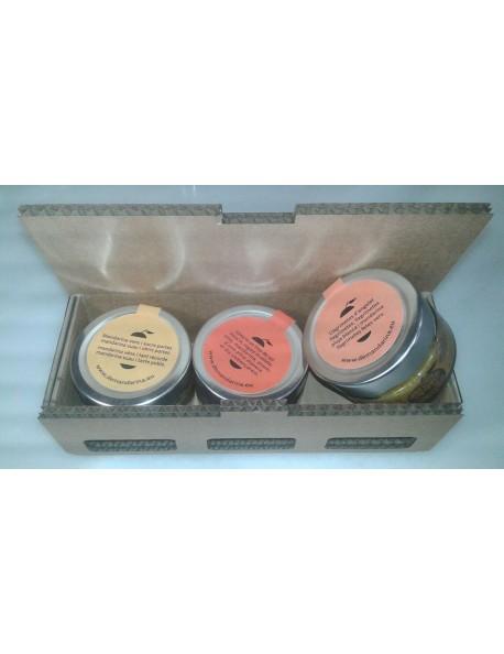 Pack de  3 tarros de mermelada artesana
