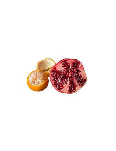 Gemischt: 7'5 Kg Mandarinen und 7'5 Kg Granatapfelfrucht